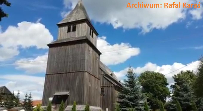 drewniany kościół Ostrykół